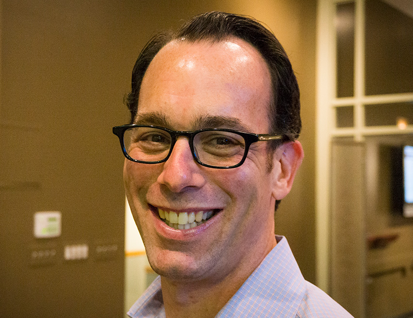 Director of Client Strategy and Planning at CBD Marketing, Mark Shevitz. He has a background in brand consulting.