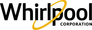 The Whirlpool Corporation logo, as of 2017.